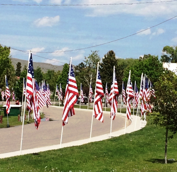 park-with-memorial-day-flags